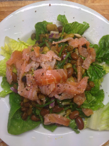 Smoked Salmon Salad picture credit: Zoya Mathison