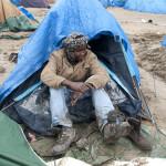 Winter  in Calais Part 1: Entering the jungle