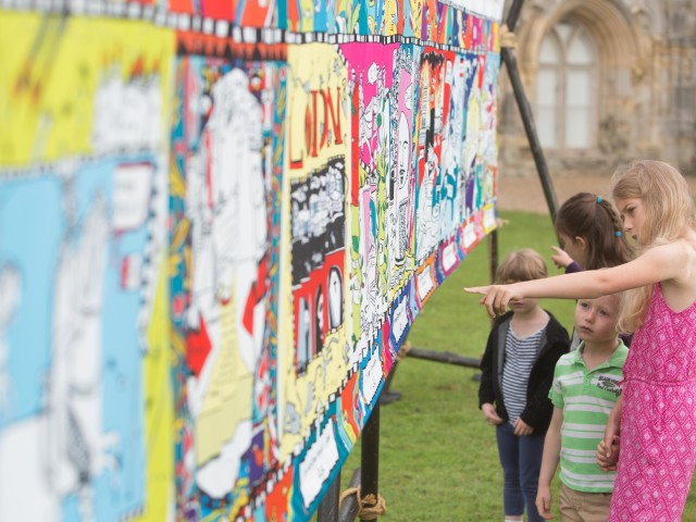 THE KIDS' TAPESTRY UNVEILED