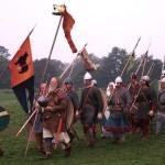 Quick march: Intrepid trio plan to 'yomp' like Saxons