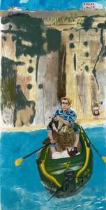 Paula Rego, Rowing from Ericeira, 2014 (c) the artist. Courtesy Marlboro...
