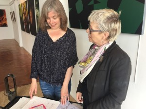 Charlotte Morris talks to Sally Meakins