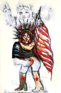 Scary Amerika, by Oska Lappin
