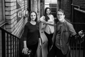 Rautio Piano Trio, from left Jane Gordon, Victoria Simonsen and Jan Rautio