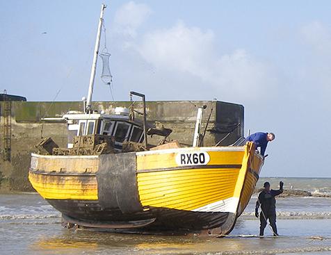 EU Supports Hastings Fishermen