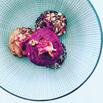 Cashew, Raw Cacao & Rose Bliss Balls
