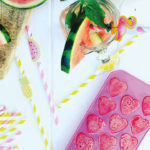Watermelon, Lime & Pomegranate Granita