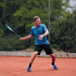 TENNIS: Keen on pleasing god