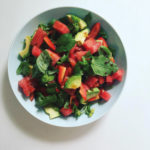 Watermelon, Avocado & Mint Salad