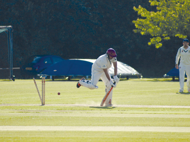 CRICKET: Horntye – BOWLED OUT