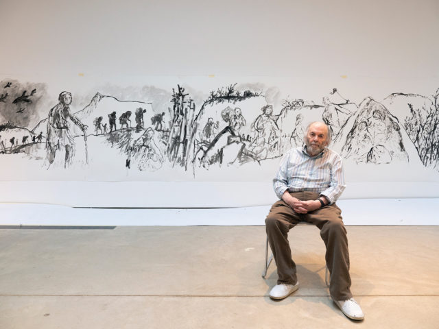 Quentin Blake: We Live in Worrying Times