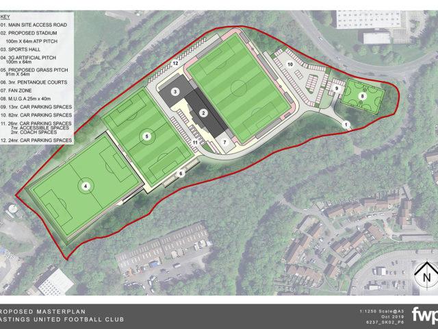 FOOTBALL: Hastings United Submit New Stadium Plans