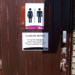 Stink Over Toilet Closures