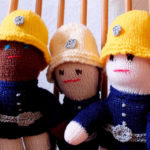 Joan Knits For Firefighters