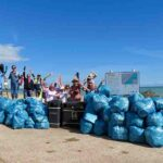 Pett Level Lifeboat Aids Fairlight Cove Clean-up