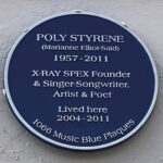 Blue Plaque for Poly